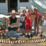Children fishing have a great time!